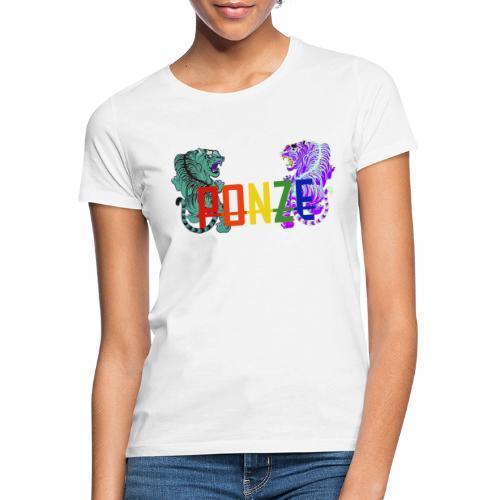 Tigerdesign 2 - Frauen T-Shirt