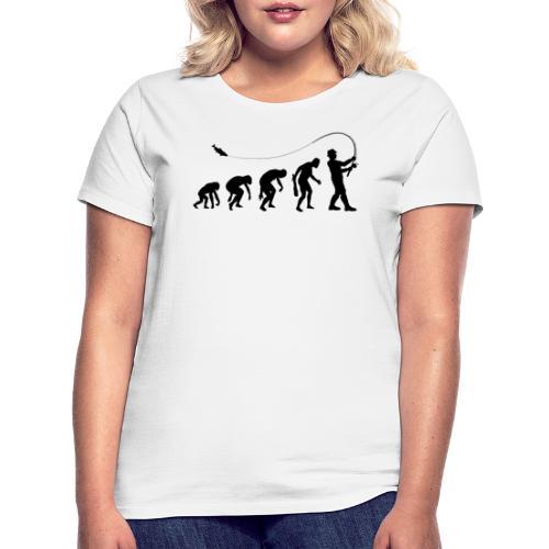 Evolution of fischers - Frauen T-Shirt