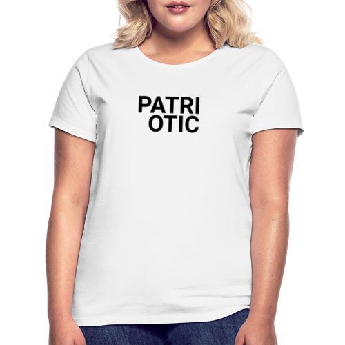 PATRIOTIC - BLACK COPY - Koszulka damska