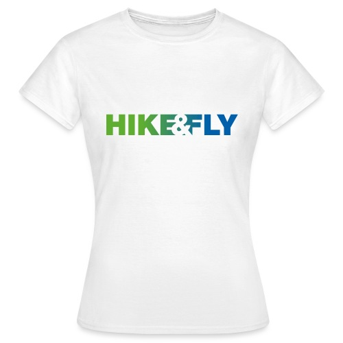 Hike & Fly Paragliding - Frauen T-Shirt