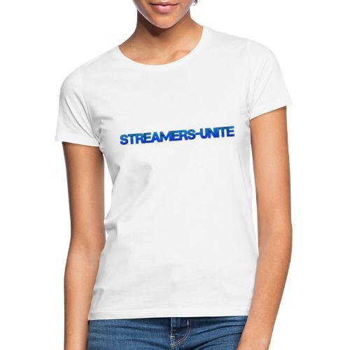 Streamers-Unite - Broken Blue - Vrouwen T-shirt