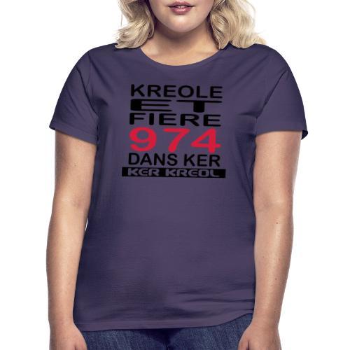 Kreole et Fiere - 974 ker kreol - T-shirt Femme