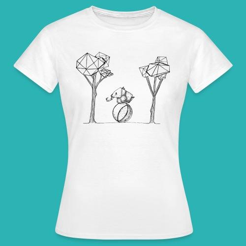 Rotolare_o_capitombolare-01-png - Maglietta da donna