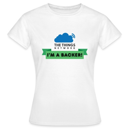 The Things Network Backers - Vrouwen T-shirt