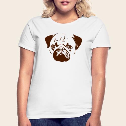 Otiz Mopskopf3 - Frauen T-Shirt