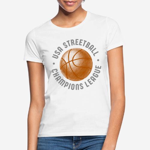 usa streetball basketball - Frauen T-Shirt