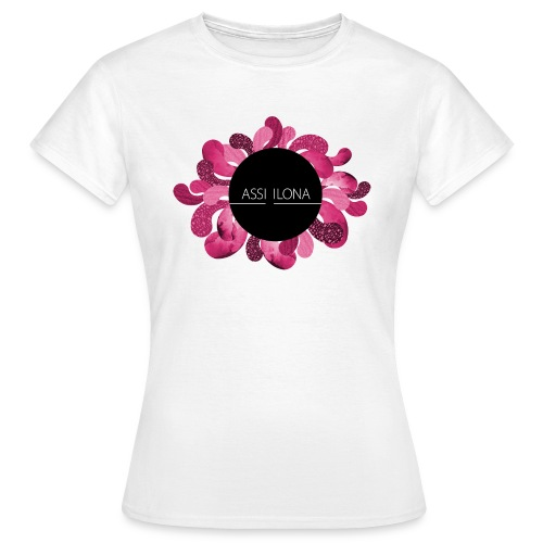 Toppi punaisella logolla - Naisten t-paita