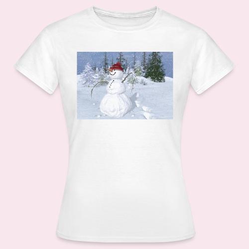 noel 2017 - T-shirt Femme