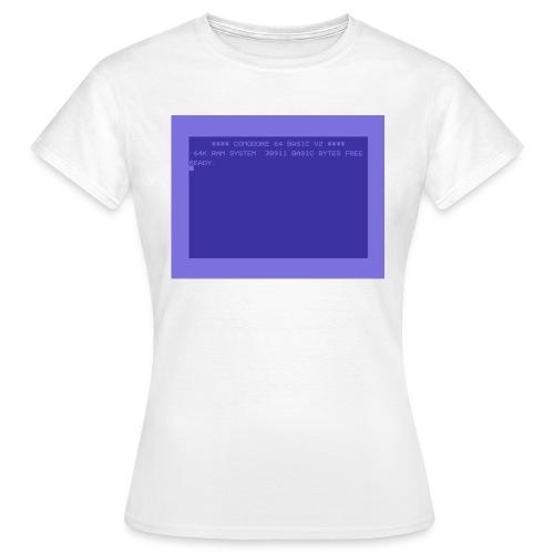 c64 Startscreen - Frauen T-Shirt