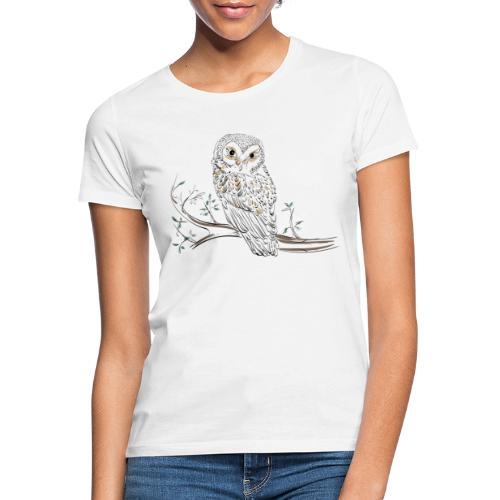owl stevanka eule - Frauen T-Shirt