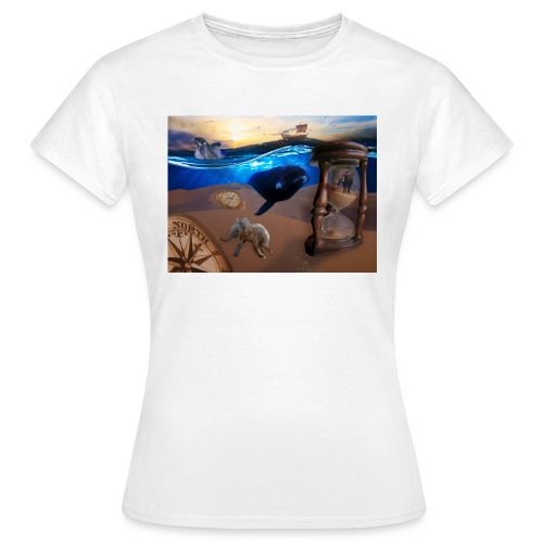 Wodne Przemyślenia - Koszulka damska