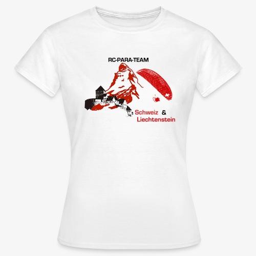 RC-Parateam Schweiz & Liechtenstein - Frauen T-Shirt