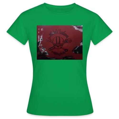 Rock y mecanicos de motos - Camiseta mujer
