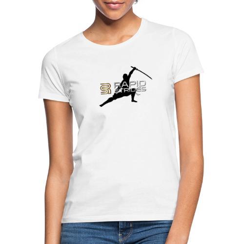 Rapid Strides Ninja Design Martial Arts Kampfsport - Frauen T-Shirt