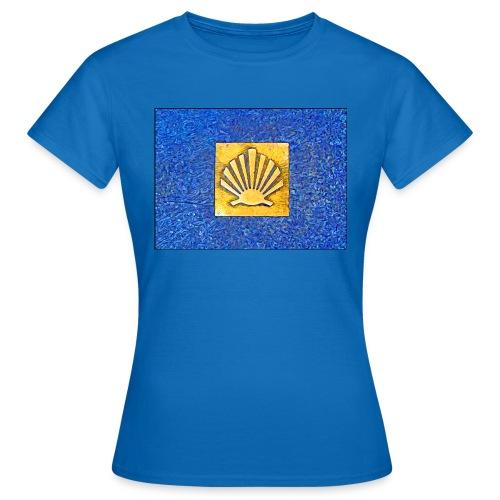 Scallop Shell Camino de Santiago - Women's T-Shirt