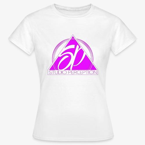 SP LOGO PERCEPTION ROSE - T-shirt Femme