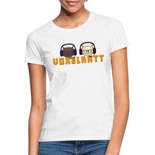 VOXELKATT LOGO - T-shirt dam