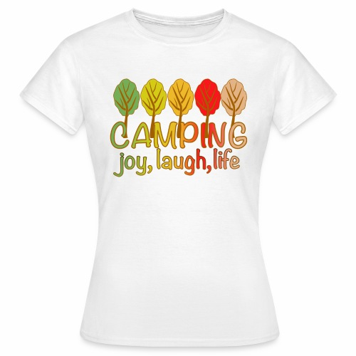 camping life - Frauen T-Shirt