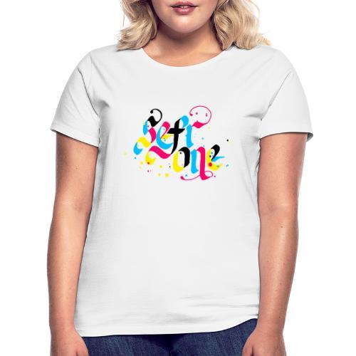 SefrOne X CMYK - T-skjorte for kvinner
