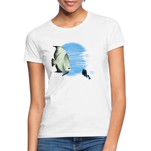 Selfie fish - T-shirt Femme