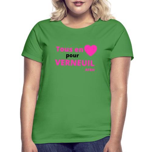 Tous en coeur pour Verneuil - T-shirt Femme