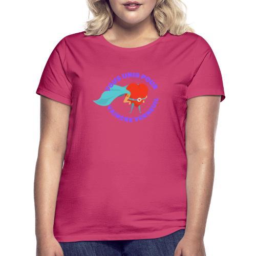 Tous Unis pour Vaincre verneuil violet - T-shirt Femme