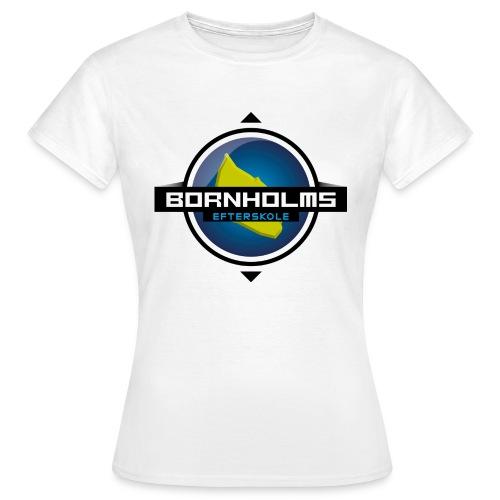 BORNHOLMS_EFTERSKOLE - Dame-T-shirt