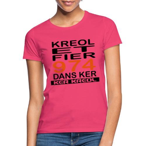 Kreol et Fier - 974 ker kreol - T-shirt Femme