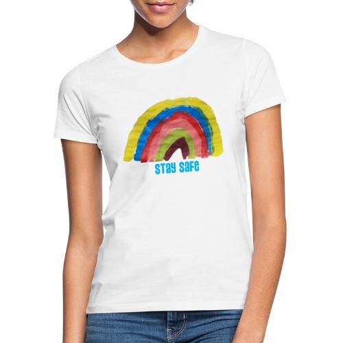 Stay Safe Rainbow Tshirt - Women's T-Shirt