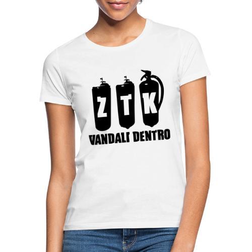 ZTK Vandali Dentro Morphing 1 - Women's T-Shirt