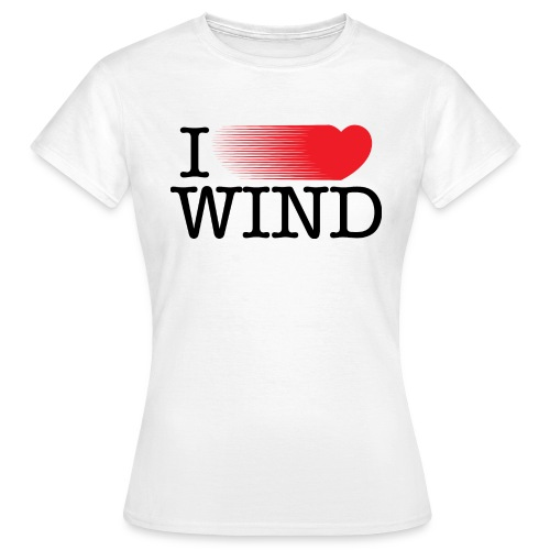 I Love Wind - Camiseta mujer