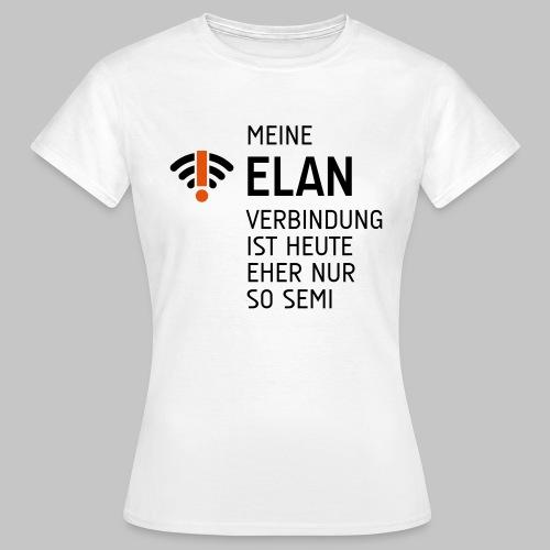 ELAN Verbindung - Frauen T-Shirt