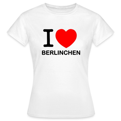 I love Berlinchen - Frauen T-Shirt