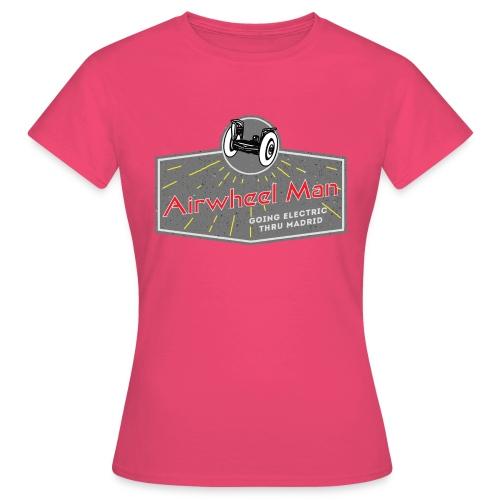 AIRWHEEL MAN - Going Electric Thru Madrid - Camiseta mujer