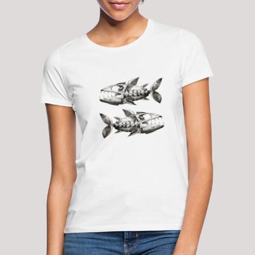 FishEtching - Women's T-Shirt
