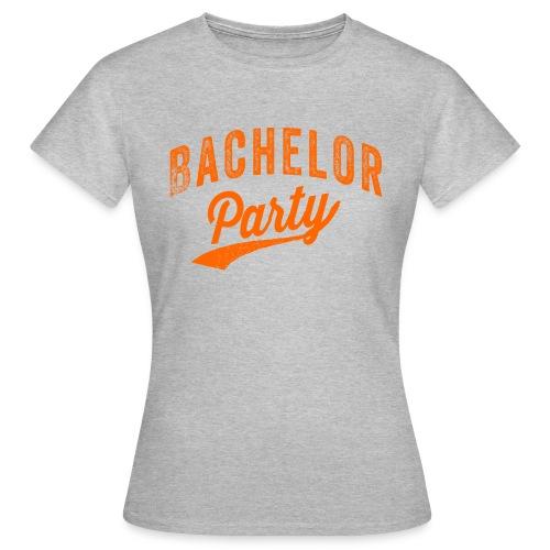 Bachelor Party oranje - Vrouwen T-shirt