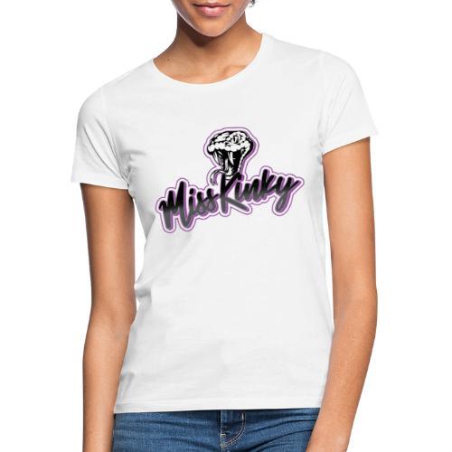 Logo Miss Kinky violet - T-shirt Femme
