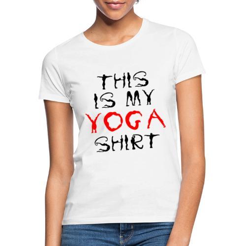 camicia yoga sport namaste spiritualità pace amore - Maglietta da donna