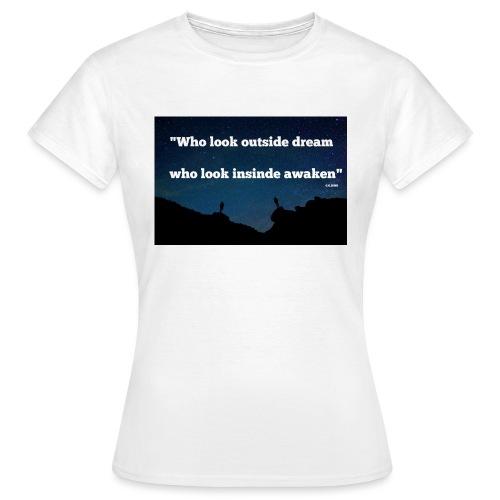 Look inside - T-shirt Femme