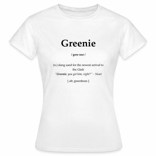 Greenie - Frauen T-Shirt