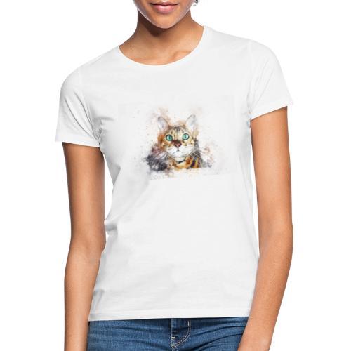 Katzen Design - Frauen T-Shirt