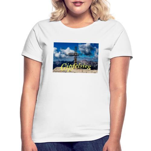 Gipfelsieg - Frauen T-Shirt