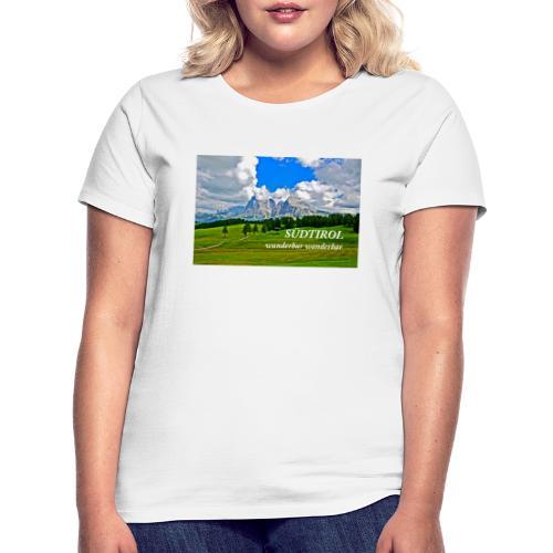 SÜDTIROL wunderbar wanderbar - Frauen T-Shirt