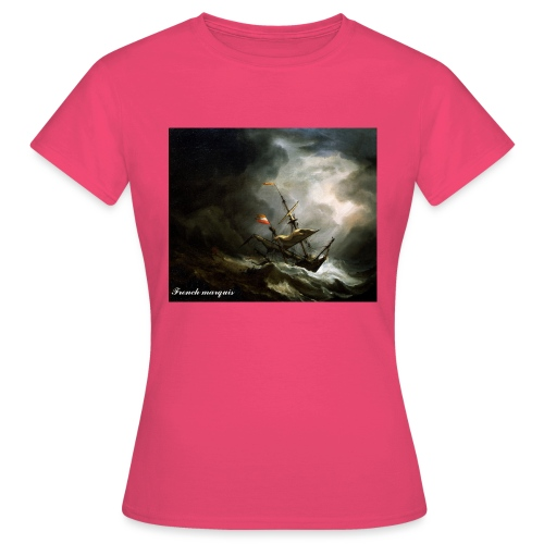 T-shirt French marquis Storm - T-shirt Femme