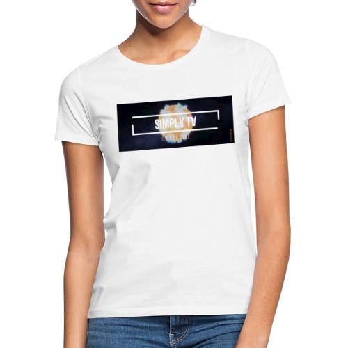 DESIGN SIMPLY-TV - T-shirt Femme