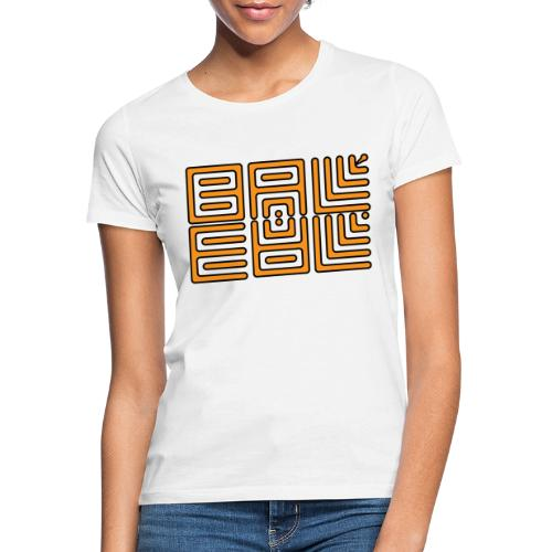 Wa-Dee-Ba Orange Edition - T-shirt Femme