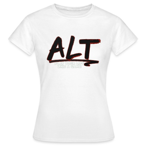 ALT Collection Special RED PLAY YOUR LIFE - T-shirt Femme