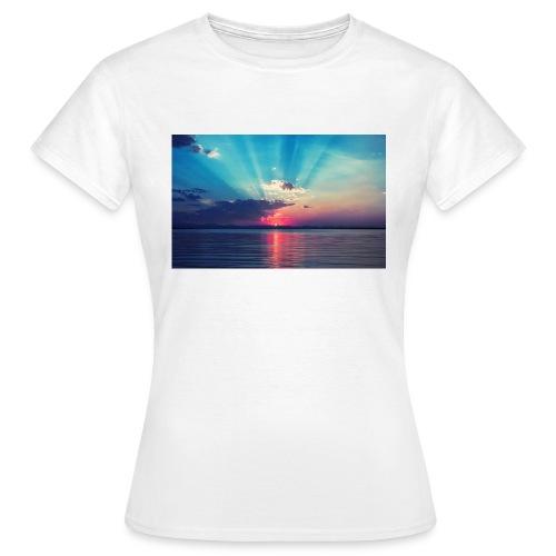 Primus- Sunrise T-shirt Weiß - Frauen T-Shirt