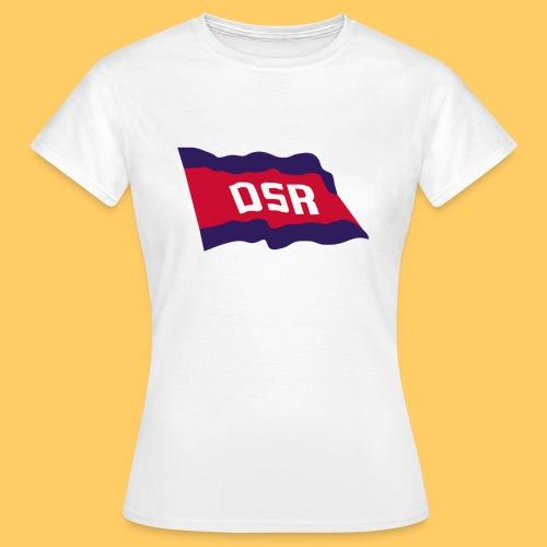 DSR Flagge - Frauen T-Shirt