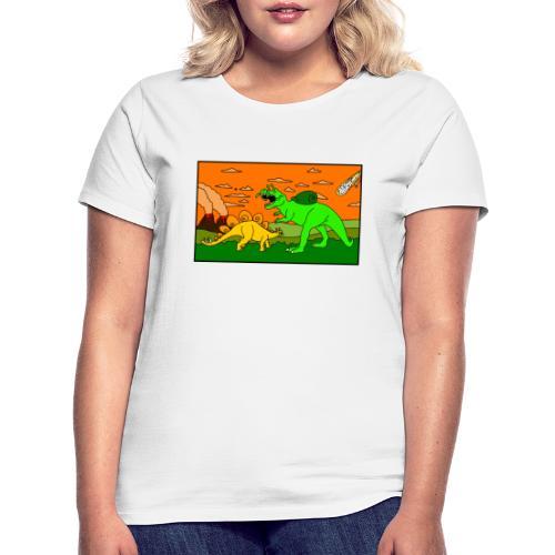 Schneckosaurier von dodocomics - Frauen T-Shirt